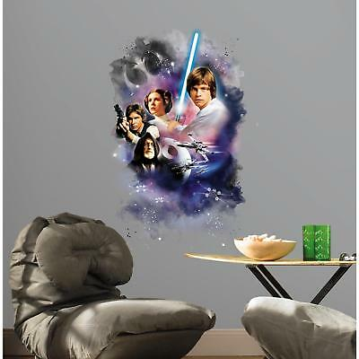 STAR WARS CLASSIC GiaNT WALL DECAL Mural Large Sticker Bedroom or Man Cave Decor