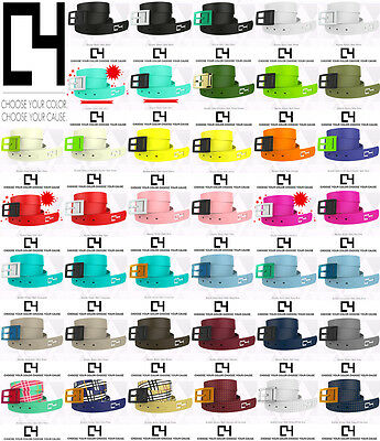New Authentic Unisex C4 Belts Waterproof Many Different Colors Of Belts