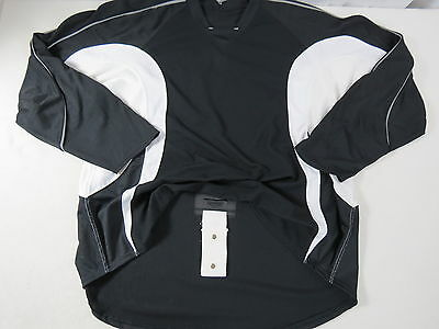 New Black Reebok Team Issued NHL Pro Stock Return Hockey Player Practice Jersey