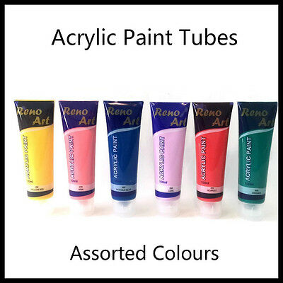Acrylic Paint Craft Paint Student Paint Artist Quality 100ml Tube Assorted Color