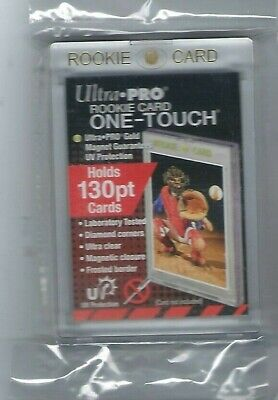 (1) Ultra Pro 130pt Rookie One-Touch Magnetic Card Holder - UV - BRAND NEW