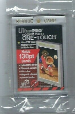 (25) Ultra Pro 130pt Rookie One-Touch Magnetic Card Holder - UV - BRAND NEW