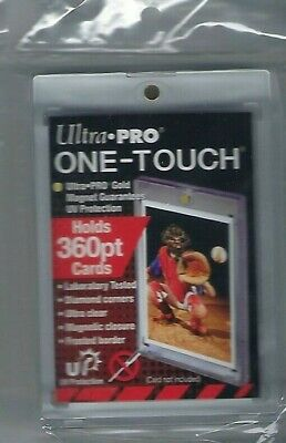 ( 1 ) Ultra Pro One Touch Magnetic Card Holders 360pt w UV