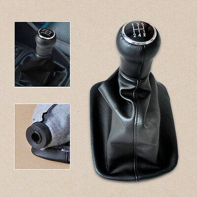 5 Speed Gear Shift Knob Gaiter Gaitor Boot for AUDI A6 C5 A4 B5 A8 D2 1998-2000