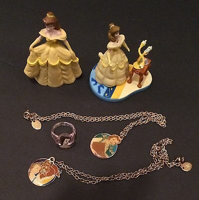 Lot of 5 Disney Beauty and the Beast Items