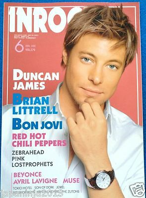 INROCK Japan Music Magazine 6/2006 Bon Jovi Beyonce Red Hot Chili Peppers Muse