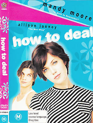 How To Deal-2003-Mandy Moore-Movie-DVD