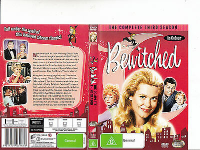 Bewitched-1964/1972-TV Series USA-Complete Third Season-4 Disc-DVD