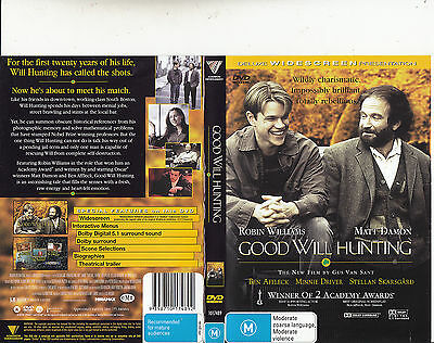 Good Will hunting-1997-Robin Williams-Movie-DVD