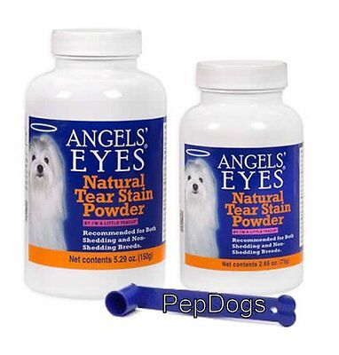 ANGELS EYES NATURAL Dog Tear Stain Powder Remover Angel Eyes