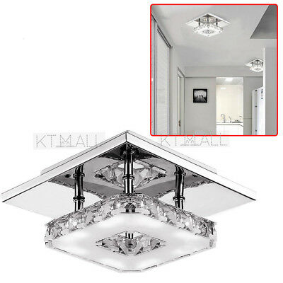 LED Ceiling Light Large Modern Crystal Chandelier Lighting Metal
