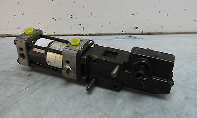 Norgren Pneumatic Cylinder G & L Double Ended Wer Clamp, SC51A090RS12, WARRANTY