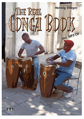 The real Conga Book (+mp3-CD)