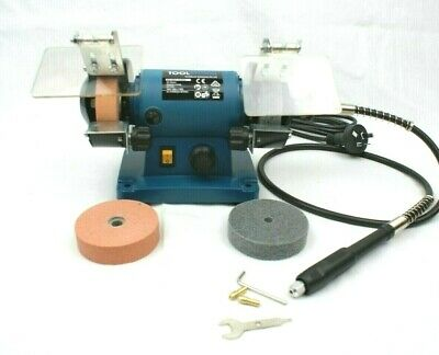 "Bench Grinder 3""75mm extra Grinding/Polishing Disc W/Flexible Shaft Hobby Mini"