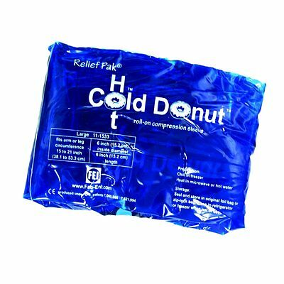Relief Pack Cold Hot Donut Injury Therapy Heat Ice Sport Surgery Compression