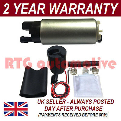 For Rover 220 420 620 Turbo In Tank Electric Fuel Pump Replacement/upgrade + Kit