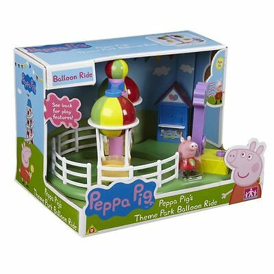 New Peppa Pig Theme Park Deluxe Balloon Ride Playset