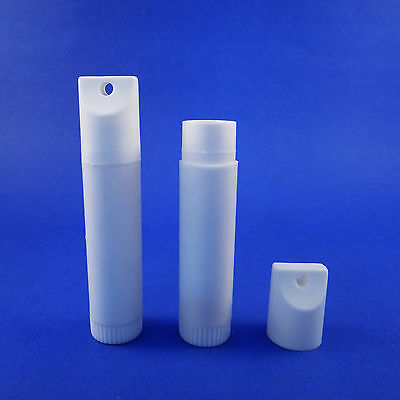 10/25/50-Empty Chapstick Balm Tube Cosmetic Container Keychain Holder0.15oz