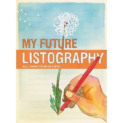 My Future Listography Nola Chronicle Books Other printed item 9780811878364