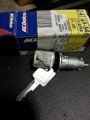 Ac Delco Ignition Switch With Keys D1499A