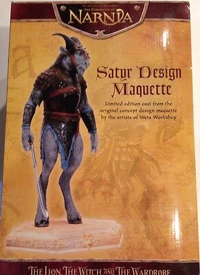 Chronicles of Narnia Saturs of Narnia  WETA New in the Box Statue