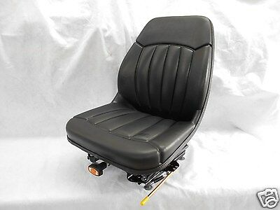 Black Suspension Seat Bobcat S130,s150,s160,s175,s185,s205,s220,skid Steer #om
