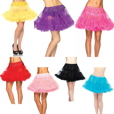 Tulle Petticoat Layer Skirt Tutu Costume Ballet Princess Full Halloween Costume