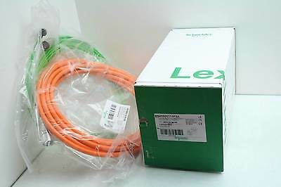 New Schneider Lexium BSH1001T11F2A Brushless AC Servo Motor w/ Cables