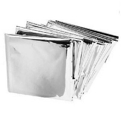 Emergency Mylar Thermal Blankets (Pack of 10) Survival gear all weather
