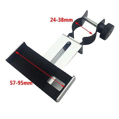 Metal Spotting scope astronomical Telescope Universal Stand Mount f phone iphone