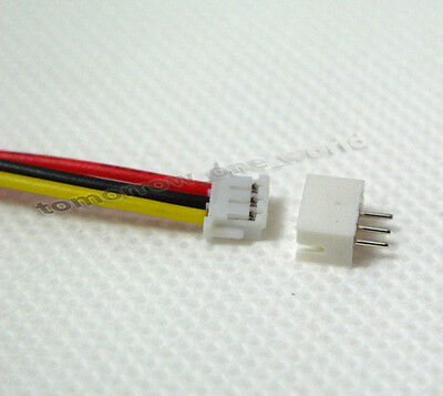 20 PAIRS Micro JST 1.25 3-Pin Male and Female Connector plug with Wires Cables