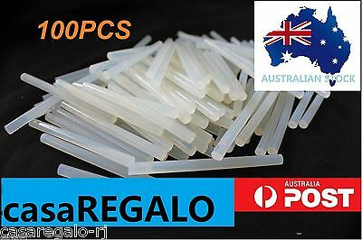 Glue Sticks Hot Clear Melt Glue Adhesive Sticks 100pcs For Glue Gun 7mm x 100mm