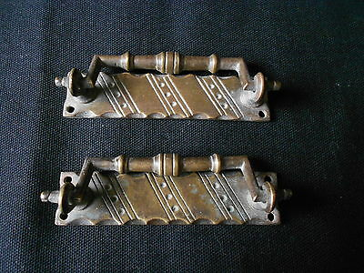Beautiful Brass vintage Draw Handles