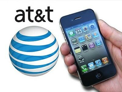 AT&T ATT FACTORY UNLOCK IMEI Service for iPhone 3g/4/4S/5/5s/6 ONLY - CLEAN IMEI