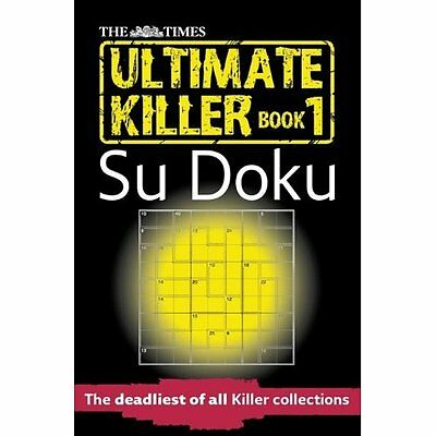 The Times Ultimate Killer Su Doku The Mind Games Books PB / 9780007326631