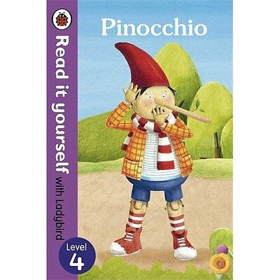 Pinocchio-Read it Yourself with Ladybird Level 4 Books Paperback . 9780723280729