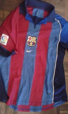 FC Barcelona 2002 Talla S Camiseta Futbol Football Shirt