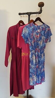 Vintage Lot of Dresses One 1960s and Two 1980s