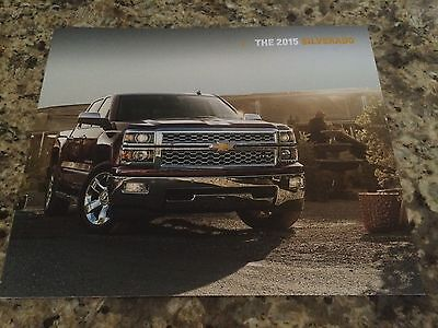 2015 Chevy Silverado 44-page Original Sales Brochure
