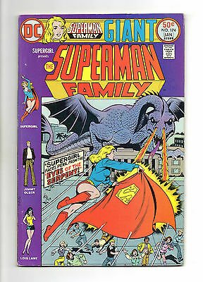 Superman Family Vol 1 No 174 Jan 1976 (VFN) Giant Size 68 Pages, DC, Bronze Age
