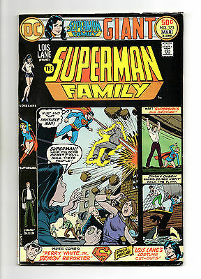 Superman Family Vol 1 No 175 Mar 1976 (VFN) Giant Size 68 Pages, DC, Bronze Age