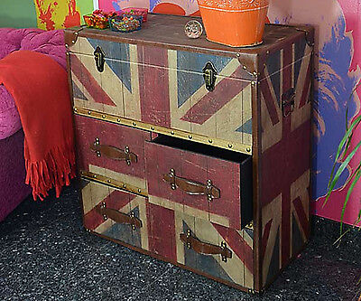 Chest Of Drawers Retro Bedroom Furniture Solid Wardrobe Industrial Style