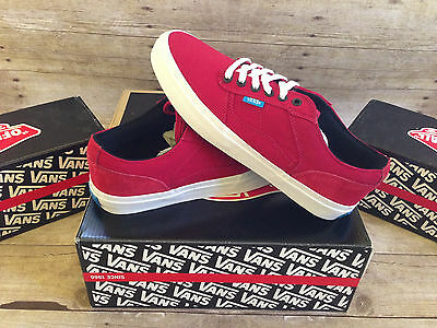 322814faa9 VANS DILLON CA Suede Pink Lady White Mens Size 9 Uk 8.5 Eur 42 New ...