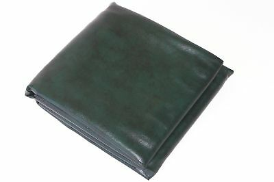QUALITY Pool Snooker Billiard Table Cover Fitted Heavy Duty Vinyl 9ft Foot GREEN