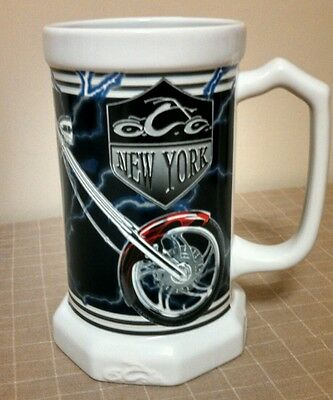 Orange County Choppers New York Mug 2005 Beer Stein Motorcycle #3836 Collectible