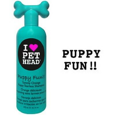 Pet Head Puppy Fun Shampoo 475ml, Premium Service, fast dispatch