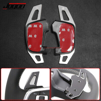 Aluminum DSG Paddle Shifter Extension For VW Golf GTI 7 GTD GTE R Mk7 2016 2017