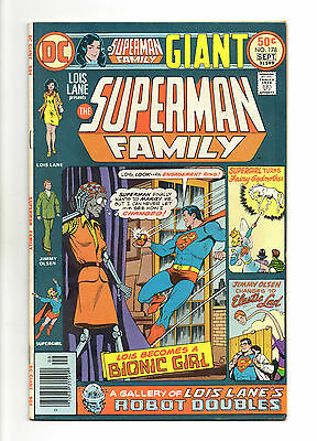 Superman Family Vol 1 No 178 Sep 1976 (VFN) Giant Size 68 Pages, DC, Bronze Age