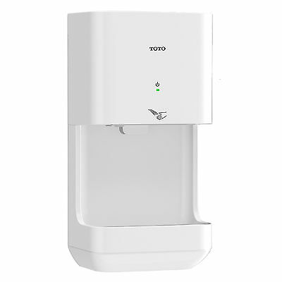 TOTO Clean Dry Mod. HDR101#WH (110V/120V) Surface-Mounted High-Speed Hand Dryer