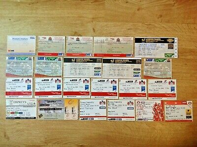 Gloucester Used Rugby Tickets 1998 - 2011